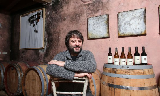 Aleks Klinec and his wines