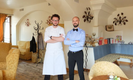Alessio Longhini and Jgor Tessari: the two pillars at Stube Gourmet in Asiago (photos by Tanio Liotta)