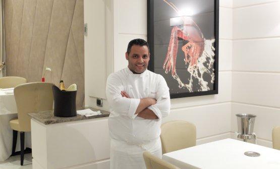 Lo chef Riccardo Sculli
