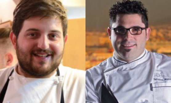 Cristoforo Trapani e Salvatore Bianco, chefs from Naples