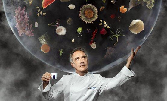 Ferran Adriàin the2014 Calendario Lavazza(fotoMartin Schoeller)