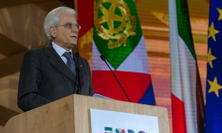 The speech given in Florence by the president of the Republic, Sergio Mattarella