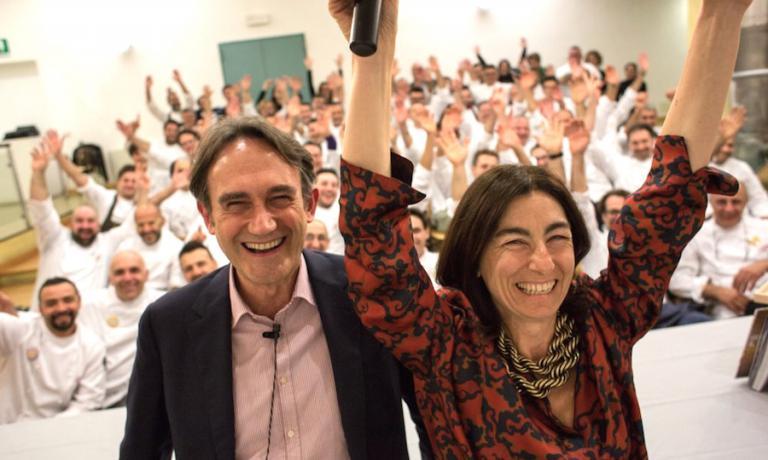 Piero Gabrieli and Chiara Quaglia, the makers of the PizzaUp revolution, ten years ago like today