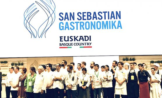 The end of Gastronomika 2018: everyone's on stage