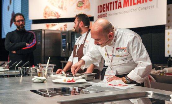 Anthony Genovese with Francesco De Lorenzo