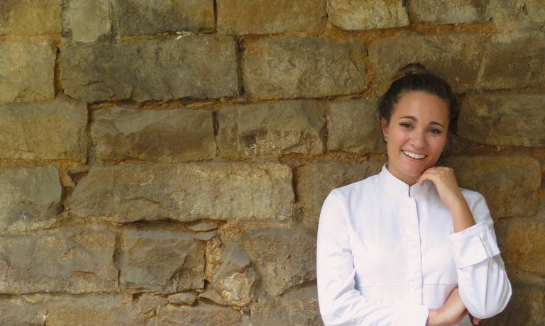 Giovanna Grossi, talented chef from Brazil, aged 24, won the Bocuse d'Or finals in South America