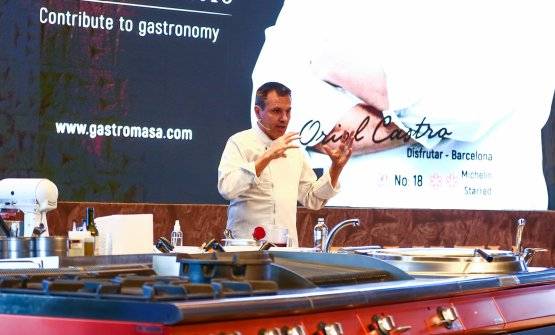 Oriol Castroon the stage ofGastromasa