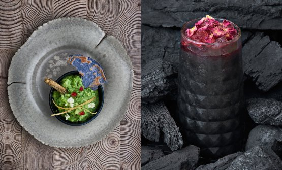 Two of the recipes presented at restaurant Ella Canta in London by Martha Ortiz, the most acclaimed chef in Mexico. The restaurant opened inside hotel One Hamilton Place Park Lane, tel. +44.(0)20.73188715