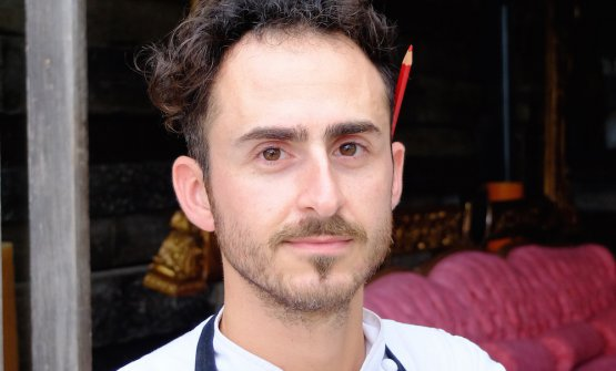 Roman pastry chef Fabrizio Pellegrini