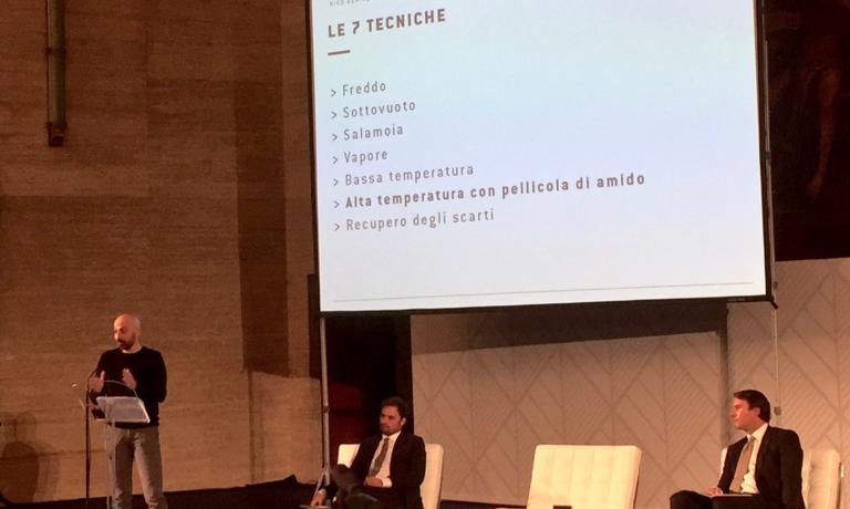 The presentation at La Sapienza in Rome