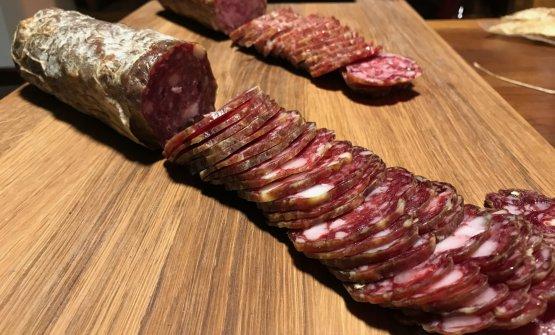 Salami under the Fracassi brand