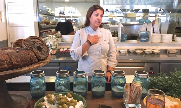 Chef Ayelet Perry of Cassis