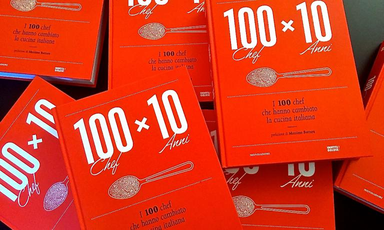100 chef x 10 anni, that is to say the one 100 chefs who changed Italian cuisine is the title of the book by Identit� Golose and published by Mondadori Electa to be presented tomorrow in Milan at 4 pm in Sala Reale inside Stazione Centrale. You're all invited!