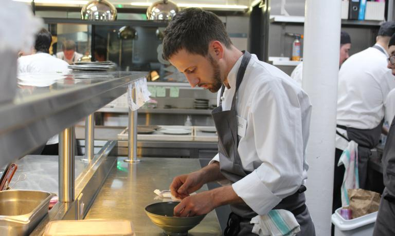 After several experiences in prestigious restaurants, since 2012 Danilo Cortellini is the chef of the Italian Ambassador in London, Pasquale Terracciano. Now he's also a finalist in the English version of MasterChef reserved to professional cooks