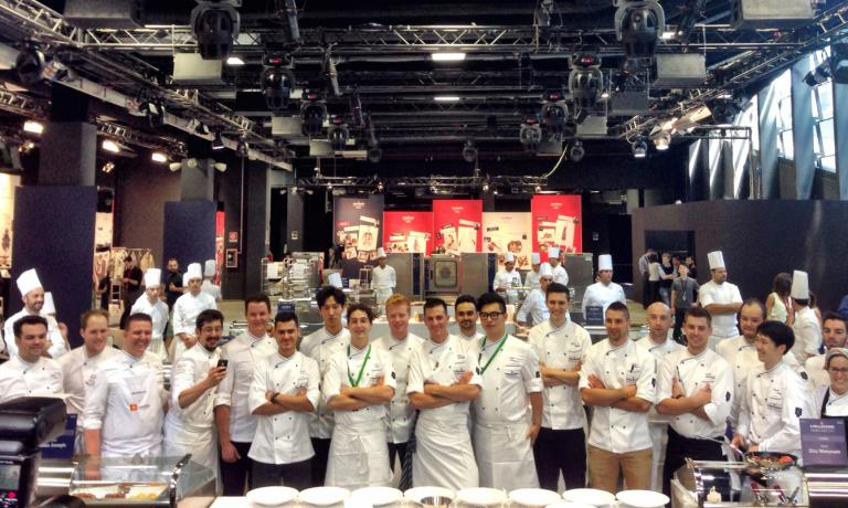 IN 20 IN THE FUTURE. The 20 protagonists of the first edition of the S.Pellegrino Young Chef of the Year ready to start