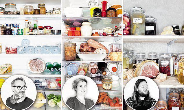"Yesterday was Earth Day 2016, the greatest environmental event on the planet. We can all contribute in our own small way and not only on this day (the photo is taken from ""Inside chefs' fridges, Europe"", Taschen with photos of Massimo Bottura, Hélène Darroze e Magnus Nilsson's fridges)"