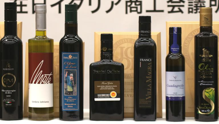 A few bottles (most were Italian) that were under the spotlight and won the third edition of Joop - Japan Olive Oil Prize, promoted in Tokyo by the Italian Chamber of Commerce in Japan (Iccj). The fourth edition will take place in June 2016, registrations are open