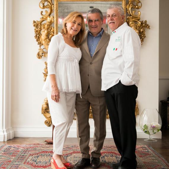 Livia, Mario e Alfonso Iaccarino