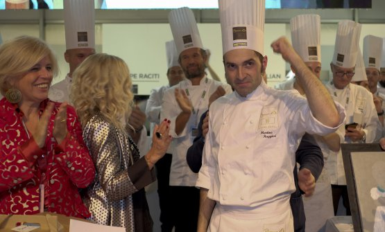 Alba (Cuneo), a few days ago: the winner of Bocuse d'Or Italia is Martino Ruggieri​