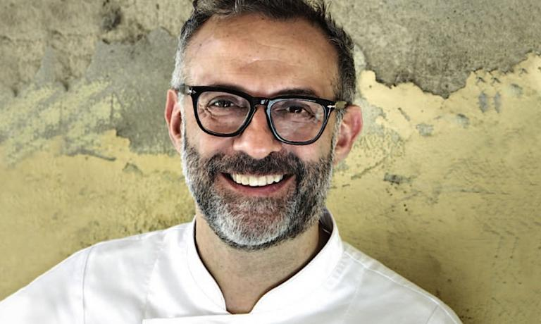 Massimo Bottura, patron-chef at Osteria Francescana in Modena in a photo taken from Associazione Le Soste's website. One must acknowledge Bottura the merit of having fought like no other so that the Food Act would become real