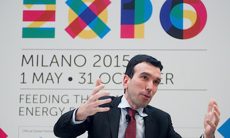 Maurizio Martina, Minister of Agricultural, Food and Forestry policies