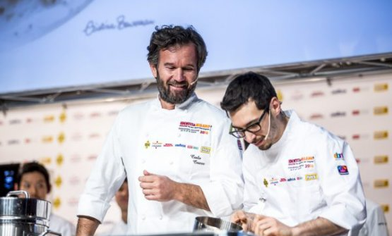 Carlo Cracco and Luca Sacchi, ready to open Cracco in Galleria