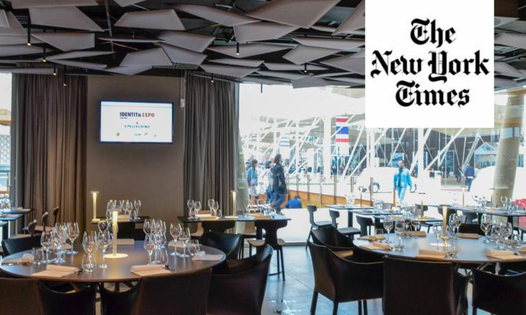 Even the prestigious New York Times, one of the most influential and famous publications in the world, covers Identit� Expo, the format created by Identit� Golose for the 2015 World Fair. They mention a lesson by Andrea Ribaldone, our executive chef, and quote founder and curator Paolo Marchi