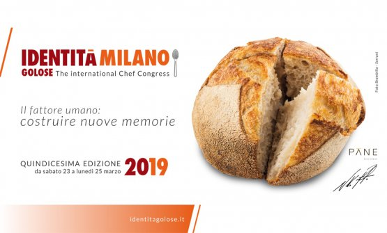 Niko Romito's Bread, here's the emblem of Identità Milano 2019