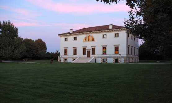 Villa Pisani Bonetti, designed by Andrea Palladio...