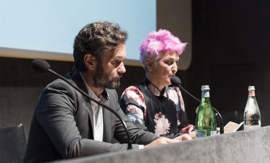 Carlo Cracco and Cristina Bowerman
