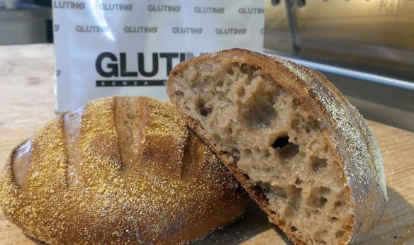 A nice loaf of gluten-free bread