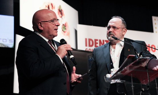 Paolo Marchi and governor Mario Oliverio