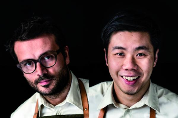 Christian Puglisi (34) and Jonathan Tam (30), patron-chef and head chef at restaurant Relæ in Copenhagen, Denmark, one Michelin star. They'll hold a lesson on Sunday the 5th March in the Auditorium Hall at Identità Milano, at 2.15 pm