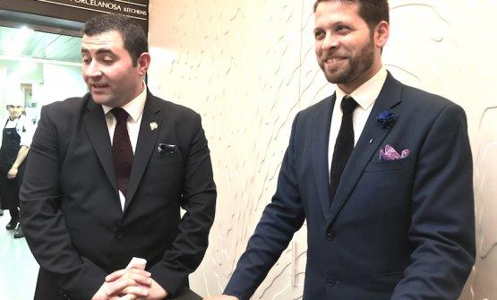 José Antonio Navarrete and Giovanni Matromarino