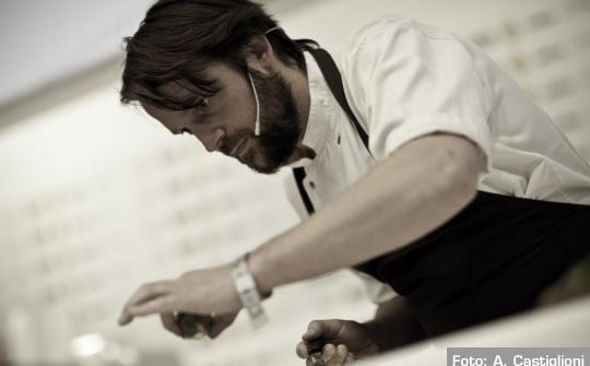 Rene Redzepi, appeared for the first time on the stage of Identit� Milano in 2007. He was the Best Foreign Chef for the 2009 edition of the Identit� Golose guide