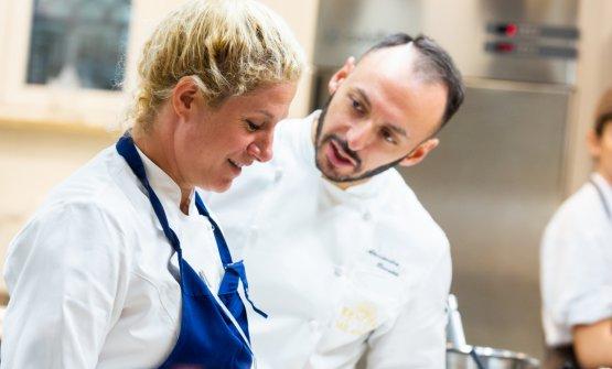 Ana Rošcon Alessandro Rinaldi, resident chef ofIdentità Milano