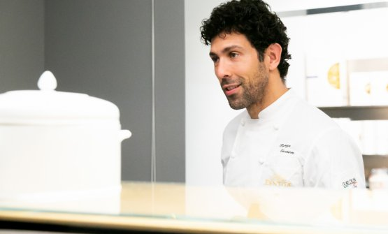 The chef fromMocotòin Sao Paulo in Milan
