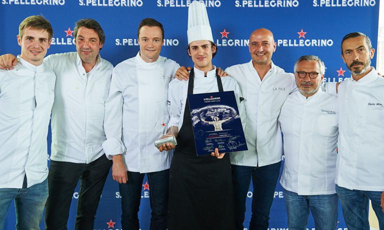 Andrea Miacola won the Benelux finals for the S. P