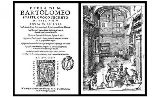 The work of M. Bartolomeo Scappi, the secret cook of Pope Pius V (1570)