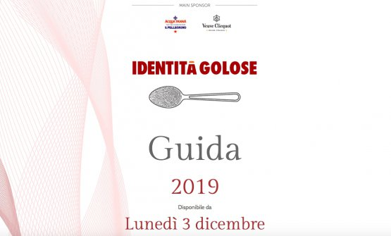 The Guida Identità Golose 2019 is available online as of Monday