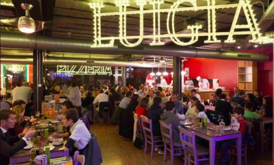 Pizzerie Luigia, 7restaurants in Switzerland and Dubai (in the photo, the first location in Geneva)