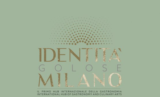 Here's the header of the Identità Golose Milano website, now online