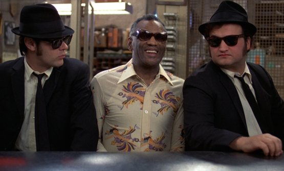 In the 2018 Red Guide, under Lecce, Michelinsays they prefer the Bros' Brothersto the ever famous Blue Brothers but there was no star for Floriano Pellegrino. In the photo, a scene from the film. Left to right:Dan Aykroyd,Ray Charlesand John Belushi
