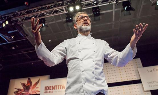 Italian Renaissance, but in the kitchen. This is what Massimo Bottura suggested during his speech at Identità Golose Milano