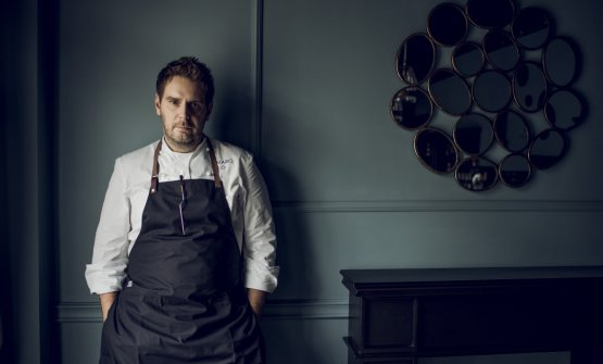 Wojciech Modest Amaro chef at Atelier Amaro, another Michelin star