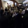 Il pubblico tra gli stand delle aziende espositrici