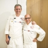 Andrew Zimmermann of Sepia in Chicago and Heinz Beck of La Pergola di Roma