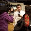 Interviste agli chef relatori, qui lo chef basco Josean Martinez Alija