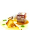 "Arrosto di vitello ""al cucchiaio"" con polenta e crema tartufatadiUgo Alciati(foto Tanio Liotta)"