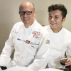 Heinz Beck and his sous chefGiovanni Solofra